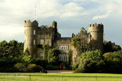 Malahide castle Stock Image