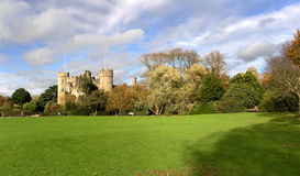 Malahide Castle. Set on 250 acres of park land in the seaside town of Malahide Royalty Free Stock Image