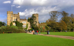 Malahide Castle. Set on 250 acres of park land in the seaside town of Malahide Stock Photography