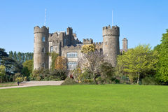 Malahide Castle in Dublin, Ireland. royalty free stock images