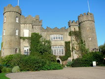 Malahide Castle in Dublin, Ireland. Stock Photo