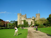 Malahide Castle in Dublin, Ireland. Royalty Free Stock Photo