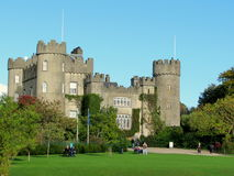 Malahide Castle in Dublin, Ireland. Royalty Free Stock Photography