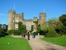 Malahide Castle in Dublin, Ireland. Stock Photography