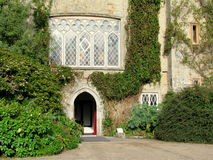 Malahide Castle entrance  in Dublin, Ireland. Stock Images