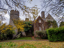 Malahide Castle in Ireland.  Stock Images