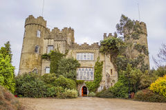Malahide castle in Ireland Stock Photography