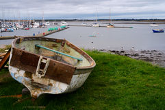 Malahide harbor. Ireland Royalty Free Stock Photography