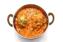 Malai Kofta lub Indiański jedzenie Zdjęcia Stock