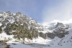 Malaiesti valley from Bucegi Mountains Royalty Free Stock Photo