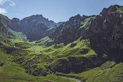Malaiesti Valley, Bucegi Mountains, Romania Stock Photography