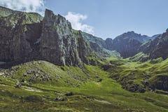 Malaiesti Valley, Bucegi Mountains, Romania Royalty Free Stock Images