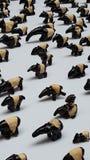 Malaiischer Tapir Lizenzfreies Stockfoto