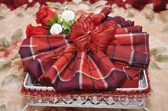Malajiska bröllophemgift Royaltyfri Fotografi