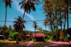 Malajiska hus royaltyfria foton