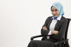 Malajska biznesowa kobieta Zdjęcia Royalty Free