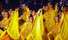 Malajski taniec Zdjęcie Royalty Free