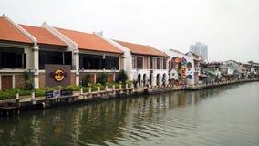 Malakka-Fluss Stockfotos