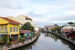 Malakka-Stadtbild Stockbilder