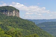 Malakoff mount in Nova Petropolis - Rio Grande do Sul - Brazil Royalty Free Stock Photography