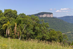 Malakoff mount in Nova Petropolis - Rio Grande do Sul - Brazil Stock Photo