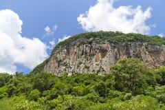 Malakoff mountain in Nova Petropolis - Rio Grande do Sul - Brazi Royalty Free Stock Image