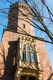 Malakoff Tower in the Rheinauhafen of Cologne. Germany Royalty Free Stock Photography