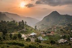 Malamjaba KPK flugsmälla Pakistan fotografering för bildbyråer