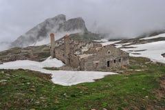 Malamot Festung Stockfotos
