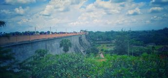 Malampuza dam royalty free stock photos