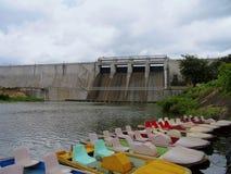Malampuzha水坝,喀拉拉,印度 库存照片
