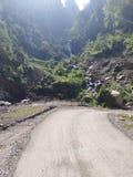 Malana village royalty free stock photo