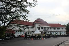 Malang City Hall royalty free stock photos