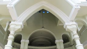 MALANG, INDONESIA - FEBRUARY 4, 2018: Mosque Masjid Agung Malang, Great Mosque of Malang. Photography Stock Image