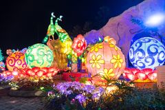 Malang lampion Fotografia Royalty Free
