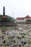Malang Tugu Square royalty free stock photo