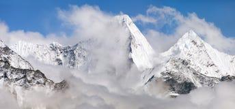 Malangphulang, Beautiful panoramic view of himalayas Royalty Free Stock Image