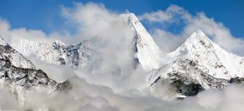 Malangphulang, way to Everest base camp, Nepal Stock Photo