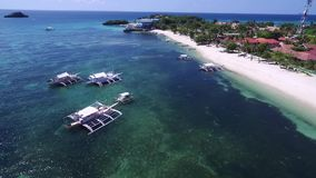Malapascua island. Administratively, it is part of the peninsular barangay of Logon, Daanbantayan, Cebu. stock video footage