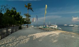 Malapascuaeiland Filippijnen stock foto's