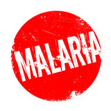 Malaria rubber stamp Royalty Free Stock Photos