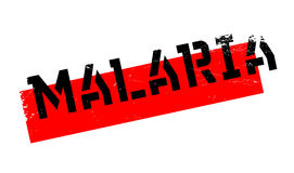 Malaria rubber stamp Stock Images