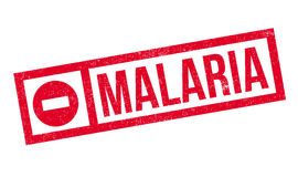 Malaria rubber stamp Royalty Free Stock Photo