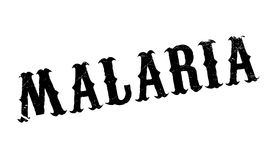 Malaria rubber stamp Stock Photography