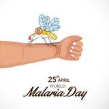 MalariaDay Royalty Free Stock Photography