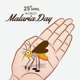 MalariaDay Stock Photo