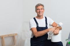 malarza uśmiecha się Zdjęcie Stock