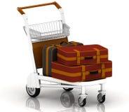 Malas de viagem Imagens de Stock Royalty Free