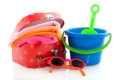 Malas de viagem embaladas Imagem de Stock