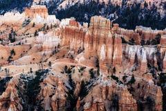 Malas sombras de Bryce Canyon imagenes de archivo